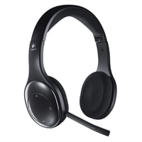 Logitech Wireless Headset H800 - Headset - drahtlos - 2,4 GHz