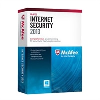 McAfee Internet Security 2013 - Abonnement-Paket (1 Jahr) - 3 PCs (Mini-Box) - Win - Deutsch