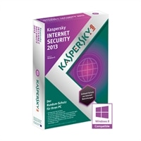 Kaspersky Internet Security 2013 - Abonnement-Paket (1 Jahr) - 3 PCs - CD (DVD-Hülle) - Win - Deutsch