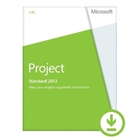Microsoft Project Standard 2013 - Lizenz - 1 PC - Download - Win - Deutsch - 32/64-bit, über elektronische Verteilung geliefert, Click-to-Run
