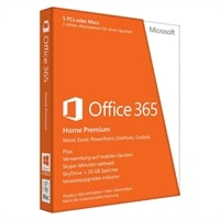 Microsoft Office 365 Home Premium - Abonnement-Lizenz (1 Jahr) - bis zu 5 PCs in einem Haushalt - Win - All Languages - Eurozone - 32/64-bit, Click-to-Run