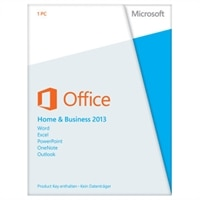 Microsoft Office Home and Business 2013 - Lizenz - 1 PC - Win - Deutsch - Europa - 32/64-bit