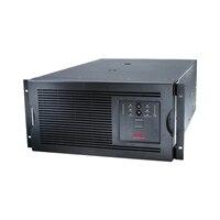 APC Smart-UPS - USV - Wechselstrom 230 V - 4 kW - 5000 VA - Ethernet 10/100, RS-232 - 10 Ausgangsstecker - 5U - Schwarz