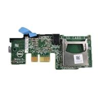 Dell Internal Dual SD Module - συσκευή ανάγνωσης καρτών ( SD ) - για PowerEdge R430, R630, R730, R730xd, T430, T630