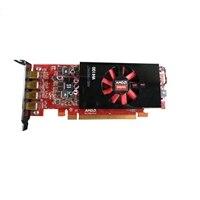Dell AMD FirePro W4100 μισού ύψους Κάρτα γραφικών - 2GB