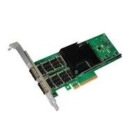 Intel Ethernet Προσαρμογέας δικτύου σύγκλισης XL710, Διπλός θυρών, 40 Gigabit QSFP, χαμηλού προφίλ R630/R730XD Cus Kit - DSS Restricted