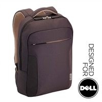 Targus Soft Hug Backpack 15.6-inch (Brown/Brown) - Designed For Dell