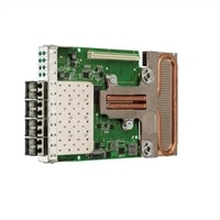 Emulex OneConnect OCm14104-N1-D 4-port 10GbE NIC, Rack Network Daughter Card, Customer Install