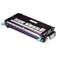 Dell - 3000-Page Standard Capacity Cyan Toner Cartridge for 3130cn Laser Printer