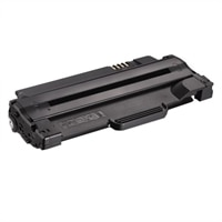 Dell - 2500-Page High Yield Black Toner Cartridge for 1130 / 1130n / 1133 / 1135n Laser Printer
