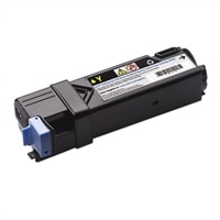 Dell - 2500 Page Yellow Toner Cartridge for Dell 2150cn / 2150cdn / 2155cn / 2155cdn Color Laser Printers