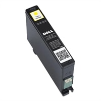 Single Use Extra-High Capacity Yellow Ink Cartridge (Series 33) for Dell V525w/ V725w All-in-One Wireless Inkjet Printer