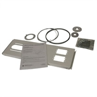 Dell - Suspended False Ceiling Plate Kit for Select Dell Projectors