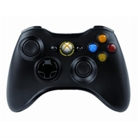 X360 Accessory - Genuine Wireless Controller (Black)