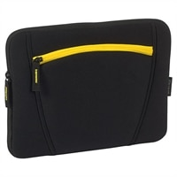 "Targus 16"" - Slipskin with Accessory Pocket - Black and Yellow"