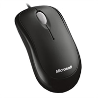 Microsoft Basic Optical Mouse Black For Business (5 units per pack)