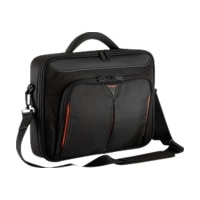 """Targus Classic+ Clamshell Case - Notebook carrying case - 14.1"""" - black"""