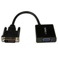 StarTech.com DVI-D to VGA Active Adapter Converter Cable - 1920x1200 - Video converter - DVI - VGA - black