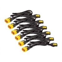 APC - Power cable - IEC 320 EN 60320 C13 - IEC 320 EN 60320 C14 - 1.22 m - black (pack of 6 )