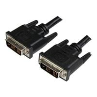 StarTech.com 3 ft DVI-D Single Link Cable - M/M - DVI cable - DVI-D (M) to DVI-D (M) - 91 cm - black