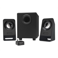 Logitech Z213 - Speaker system - for PC - 2.1-channel - 7-watt (Total)