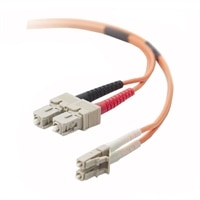 Dell - Multimode LC/SC Fiber Cable - 9.84 ft