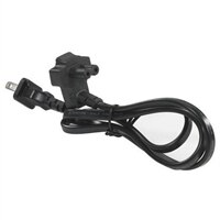 Dell 2 Wire Flat US Power Cord