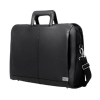 Dell - Executive Leather Carrying Case - Fits laptops with Screen Sizes Up to 16-inch