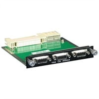 3-port Dell 10GbE Uplink Module for CX-4 Customer Kit - Expansion module - 10GBase-CX4 x 3