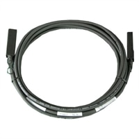 Dell - Twinax Cable with SFP+ Connector - 16.4 ft for Dell PowerEdge Servers