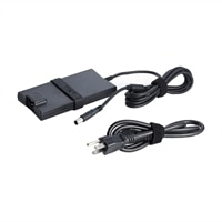 Dell - 90-Watt 3 Prong Slim AC Adapter with 6.56 ft Power Cord for Select Dell Systems
