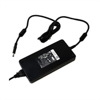 Dell - 240 - Watt 3 - Prong Additional AC Adapter with 6 ft Power Cord for Select Dell Alienware Laptops / Precision Mobile WorkStations