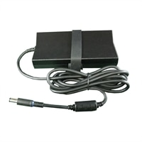 Dell - 150-Watt 3-Prong AC Adapter with 6 ft Power Cord for Select Dell Alienware / Inspiron / XPS Laptops