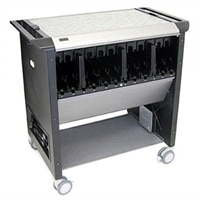 Managed Mobile Computing Station Cart for Dell Latitude 2110 Laptop