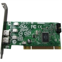 Dell - IEEE 1394a FireWire Controller Card for OptiPlex 740 / 980 Desktops / Precison T3400 / T5500 / T7500 Workstations / Vostro Desktop