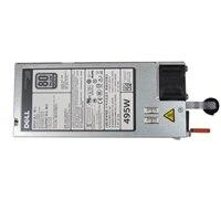 Single, Hot-plug Power Supply (1+0), 495W,Customer Kit