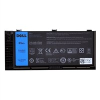 Dell - Laptop battery (standard) Lithium Ion 6-cell 65 Wh - for Precision Mobile Workstation M4800, M6800