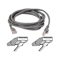 CAT5e RJ45M SNAGLESS Gray PATCH CBL- 10 ft