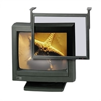 "3M™ EF200XLB Executive Anti-Glare Computer Filter, Black, 17"" - 18"" CRT/LCD Monitors"