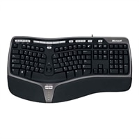 Microsoft Natural Ergonomic Keyboard 4000 - Keyboard - USB - French Canadian