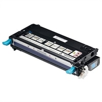 Dell - 8000-Page Cyan Toner Cartridge for 3110cn Color Laser Printer