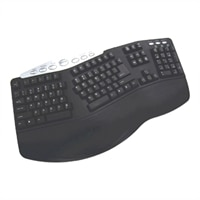 Adesso Tru-Form Media PS/2 / USB Keyboard with Hot Keys