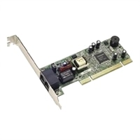 Internal PCI Interface Up to 48/56 Kbps Upload/Download 7 ft RJ-11 Phone Cord V.92 Faxmodem