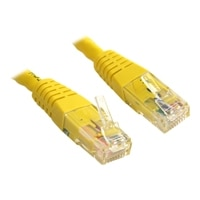 StarTech.com 7FT YLW MOLDED CAT6-CROSSOVER UTP PATCH CAB