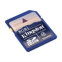 8GB SD High Capacity Flash Memory Card - SDHC