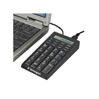 19-Key External Laptop Keypad Calculator with USB Hub