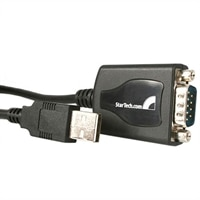 1 Port Professional USB to Serial Adapter Cable with COM Retention