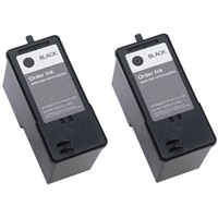 Dell - Series 7 Ink - (2) High-Capacity Black for 966 / 968