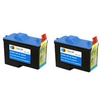 2- Ink Series 7Y745 Standard Yield Color Cartridge for 940/ 960 All-in-One printers