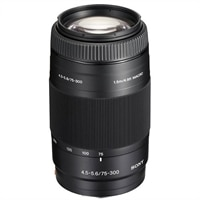 SAL75300 - telephoto zoom lens - 75 mm - 300 mm